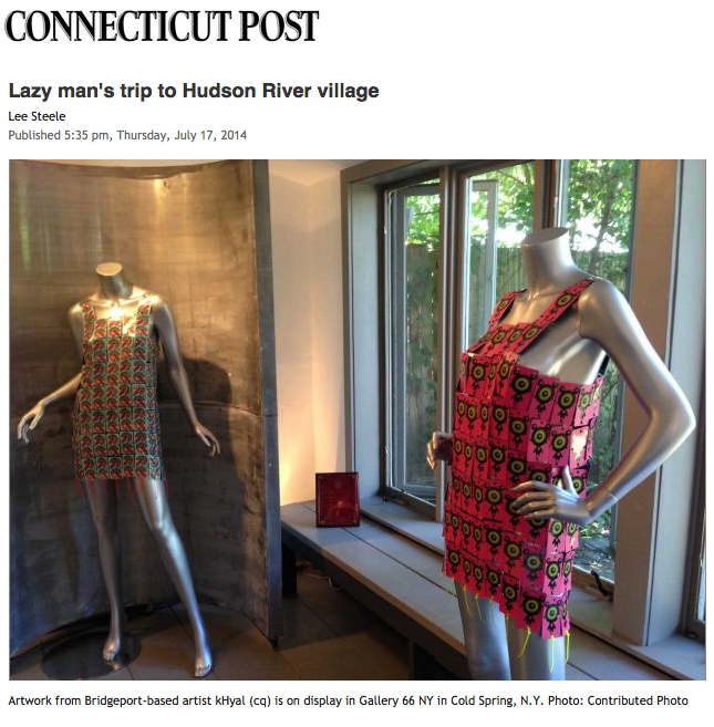 kHyal's work featured in CT Post article